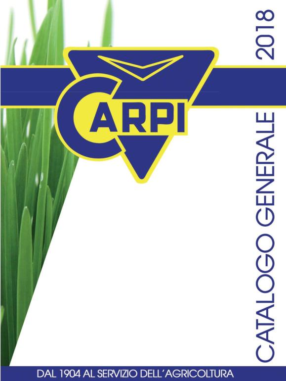 Catalogo Listino 2018 Officine Carpi