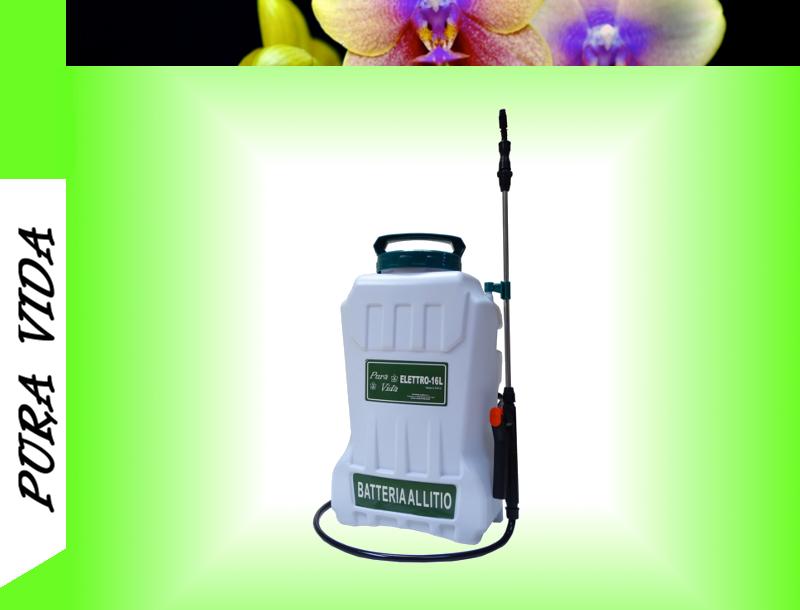 Elettro-16 L Pompa Irroratrice Batteria al Litio - Pura Vida