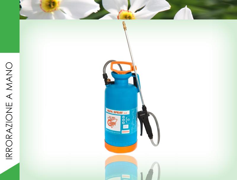 Pompa precompressione manuale Alfa Spray Lt 8
